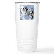 Old English Sheepdo... Thermos Mug