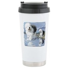 Old English Sheepdo... Travel Mug
