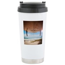 Let's Go Surfing Travel Mug