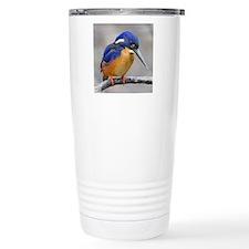 Azure Kingfisher Travel Mug
