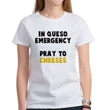 Queso Emergency Cheeses Tee