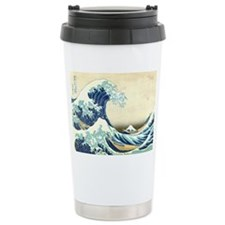 Great Wave off Kanagawa Travel Coffee Mug