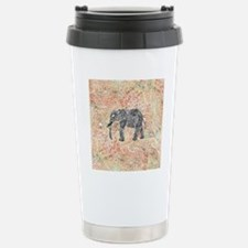 Tribal Paisley Elephant Stainless Steel Travel Mug