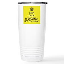 Keep Calm, It's Colombi Travel Mug