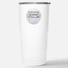 better at the lake Travel Mug
