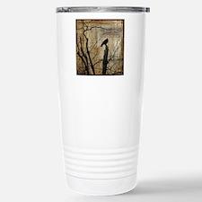 Crow Collage Travel Mug