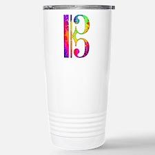 Colorful Alto Clef Travel Mug