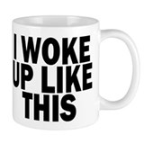I woke up like dis Small Mugs (11 oz)