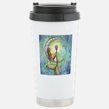 Mermaid Moon Fantasy Ar Stainless Steel Travel Mug