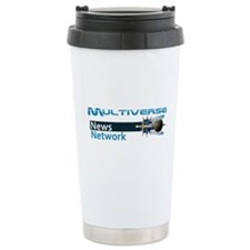 Multiverse News Network Stainless Steel Travel Mug