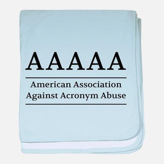 American Association Against Acronym Abuse baby bl