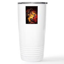 Wizard Conjures Demons Travel Mug