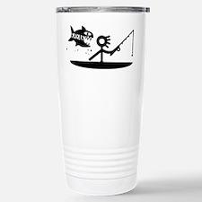 Kayak Fishing Stainless Steel Travel Mug