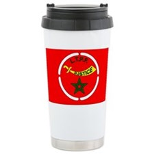 THE NATIONAL FLAG OF MOORISH AMERICA!!!! Travel Mug