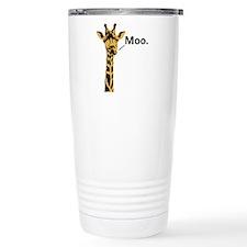 Giraffe Moo Travel Mug