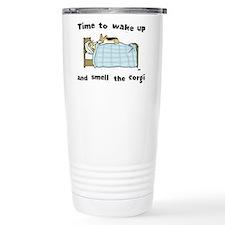Funny Cardigan welsh corgi cartoon Travel Mug