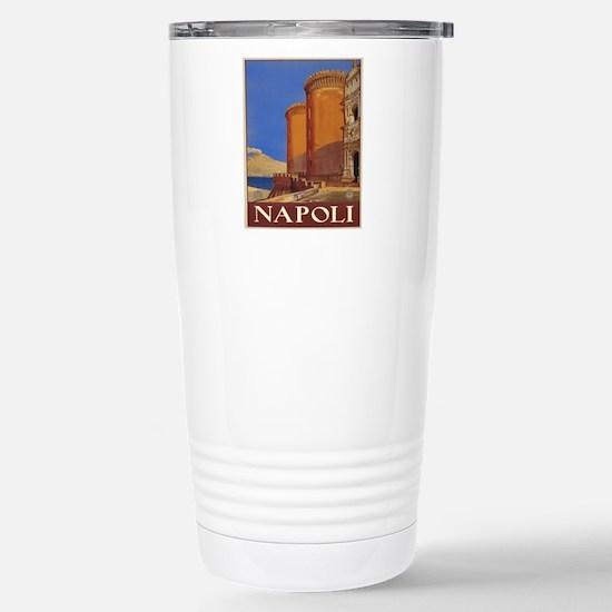 Naples Italy Stainless Steel Travel Mug