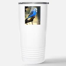 Blue Budgie Stainless Steel Travel Mug