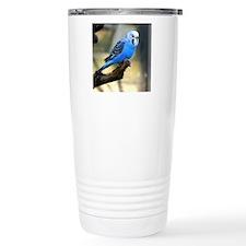 Blue Budgie Travel Coffee Mug