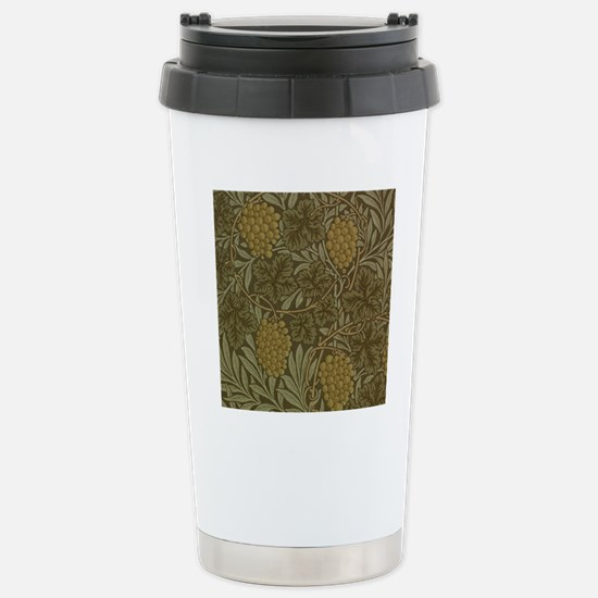 William Morris Vine Stainless Steel Travel Mug