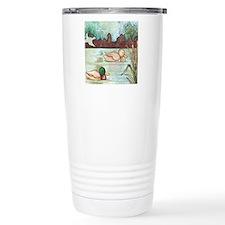Mallard Duck Decoy Travel Coffee Mug