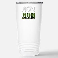 Army Mom Prayers Stainless Steel Travel Mug