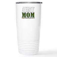 Army Mom Prayers Travel Mug