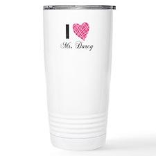I Love Mr. Darcy Travel Coffee Mug