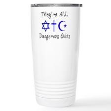 Dangerous Cults Travel Mug