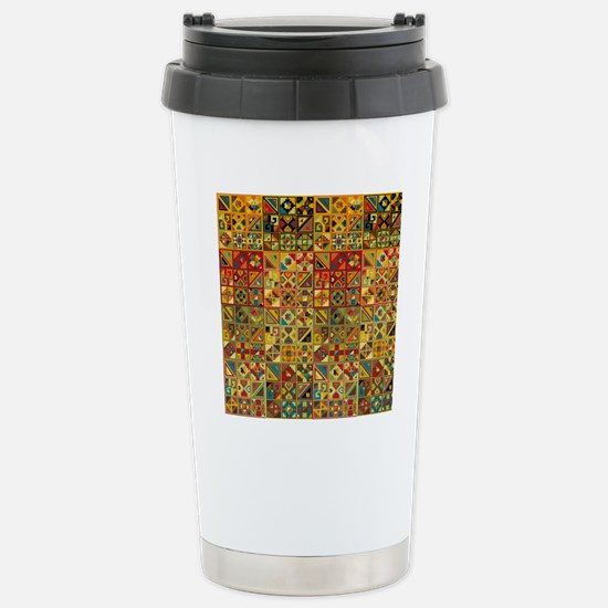 Colorful Tribal Aztec   Stainless Steel Travel Mug