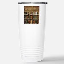 Bookshelves and Quotati Stainless Steel Travel Mug