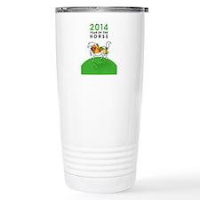 YEAR OF THE HORSE 2014 Travel Mug