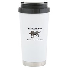 Dont Hate The Breed. Zombie Dog Travel Mug
