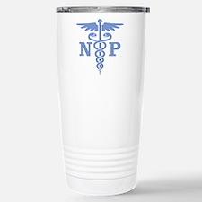 Caduceus NP (blue) Stainless Steel Travel Mug