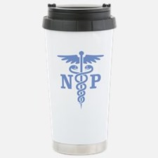 Caduceus NP (blue) Travel Mug