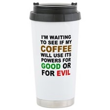 Coffee Super Powers Travel Mug