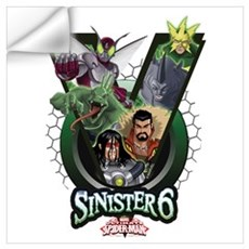 Sinister Six V Wall Art Wall Decal