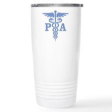 Caduceus PA (blue) Travel Coffee Mug