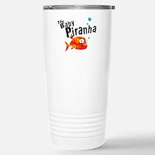The Baby Piranha Stainless Steel Travel Mug