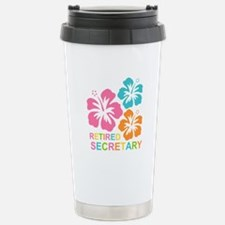 Hibiscus Retired Secret Travel Mug