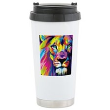 Leo the trippy lion Travel Mug