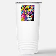 Leo the trippy lion Travel Mug