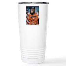 Bear Astronaut Travel Mug