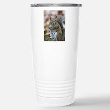 Cute Squirrel Stainless Steel Travel Mug