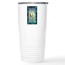 Mermaid Moon Fantasy Ar Travel Coffee Mug