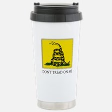 Gadsden Flag Travel Mug