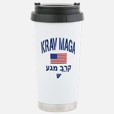 Krav Maga USA Stainless Steel Travel Mug