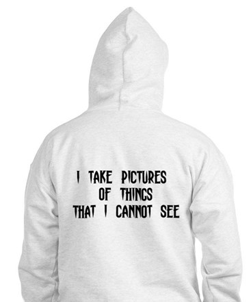 Paranormal Photographer Jumper Hoody