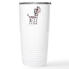Giraffe Stainless Steel Travel Mug