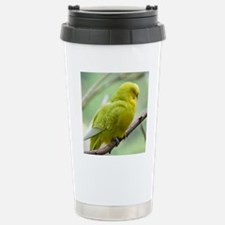 Budgie Stainless Steel Travel Mug